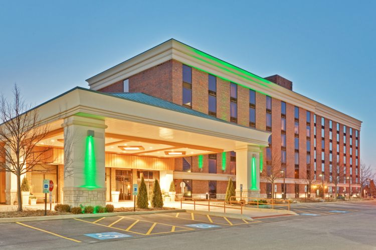 Exterior view Hotel with Parking Facility Holiday Inn SW  Countryside, IL 60525